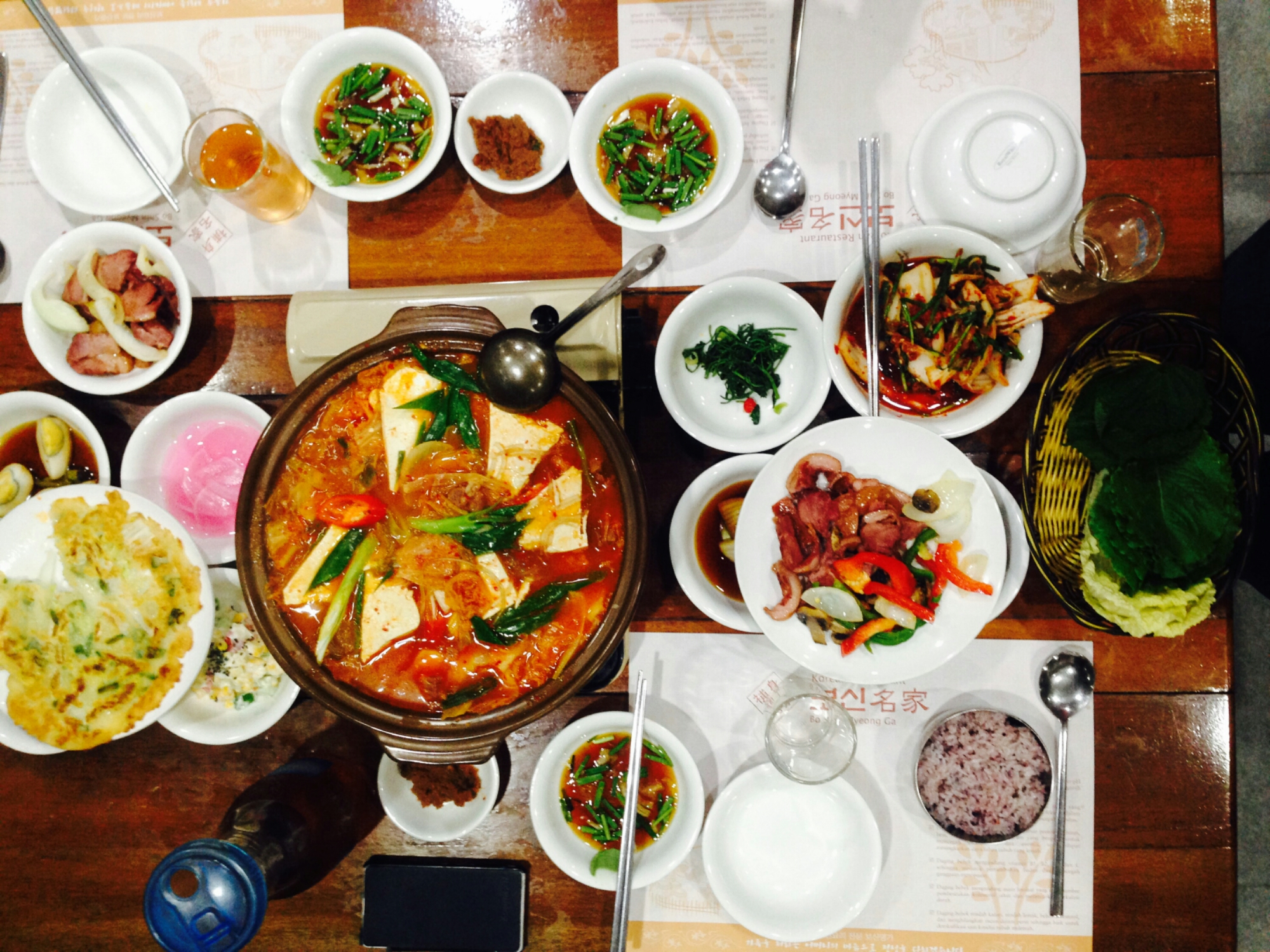 Bo Shin Myeong Ga The Taste Of South Korea In South Jakarta